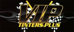 VIP TINTERS PLUS ALARMS, Logo